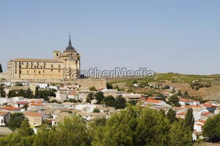 ucles monastery cuenca castile la mancha