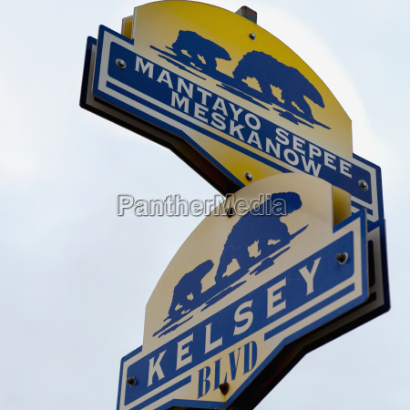 signs for street names with pictures