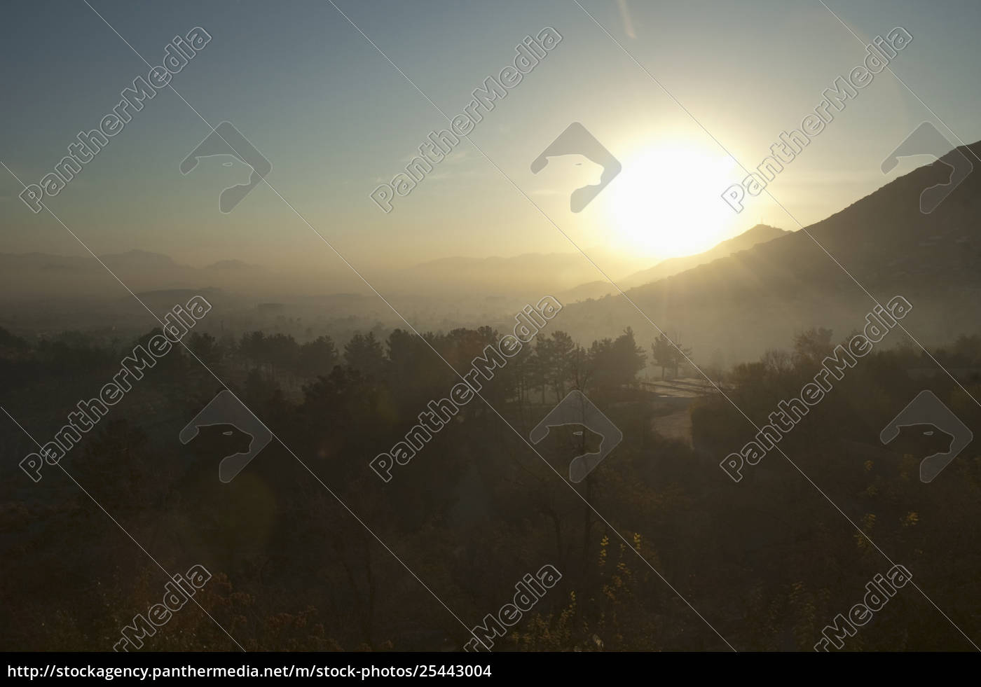Sunrise Over The Bagh-I-Bala (High Garden), Built By - Rights ...