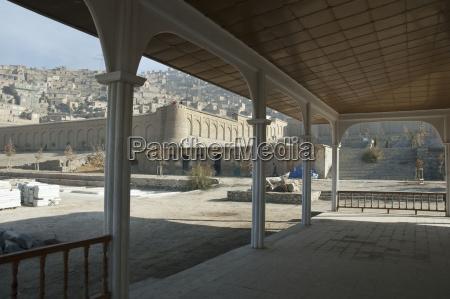 pavilion, portico, at, the, bagh-i-babur, shah - 25446160