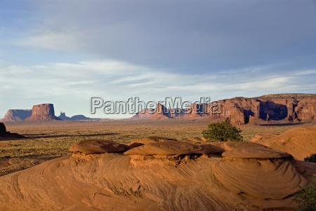 usa arizona monument valley navajo tribal
