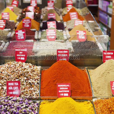 spices teas and other dried goods