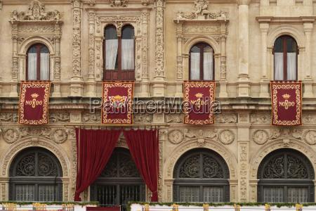 the ayuntamiento town hall of seville