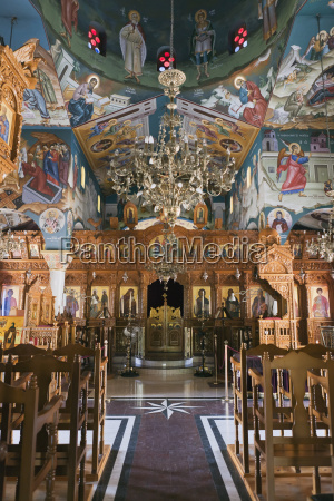 interior of st raphael church with