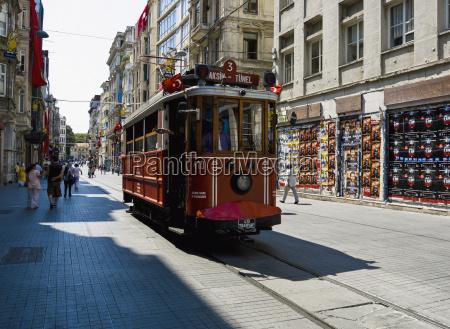 turkey streetcar istanbul