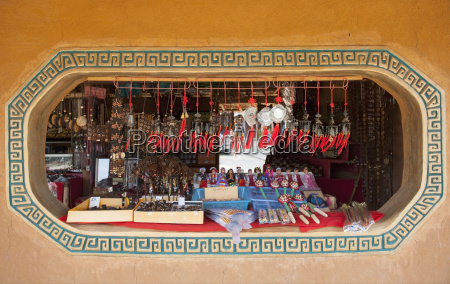 thailand chiang mai display of souvenirs