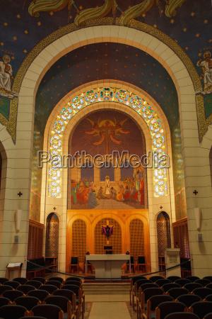 israel interior of church of st