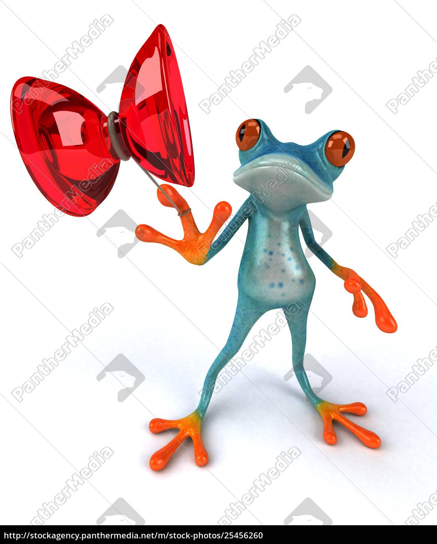 fun, frog - 25456260