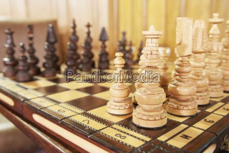 a chess set in ashford castle