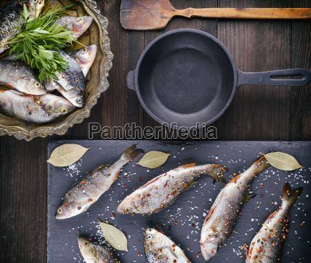 river, fish, on, a, black, board - 25461354