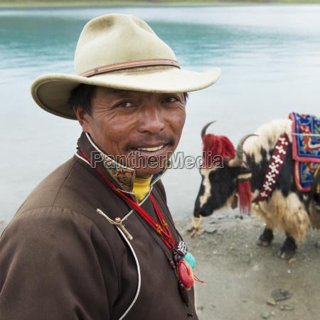 china xizang tibet shannan man and