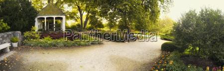 gazebo and path at boerner botanical