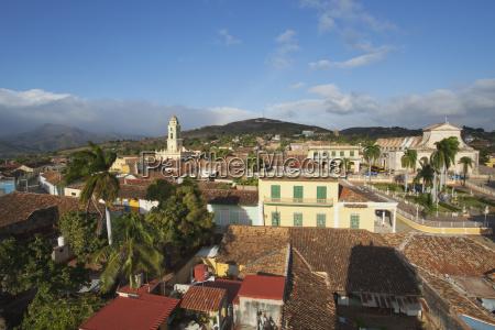 view over the city centre trinidad