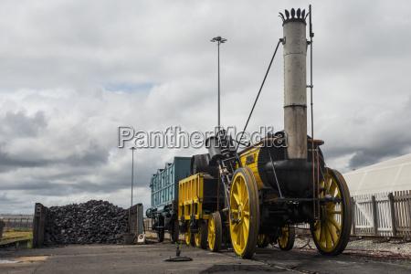 rocket worlds first steam engine shildon