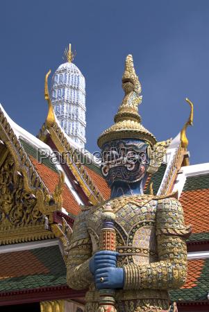 thailand bangkok wat phra kaeo complex