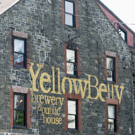 stone building of a brewery and