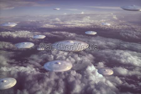 extraterrestrial ufo spacecraft