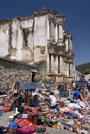 guatemala antigua the ruins of the