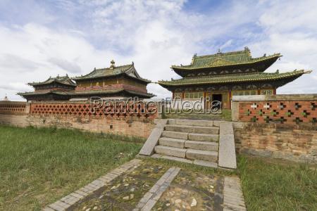 zuu temples in erdene zuu monastery