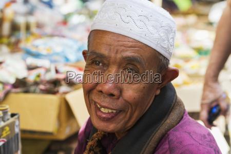 man at the weekly market semparu