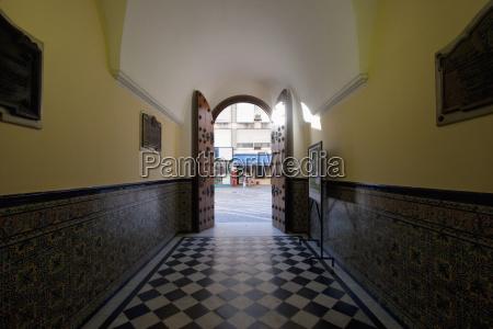 entrance to the colegio montserrat in