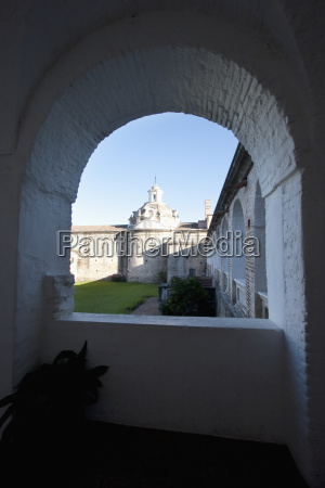 arcade surrounding the honor courtyard of