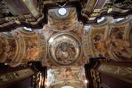 cupola of the abbey church of