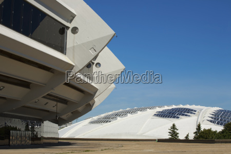 montreal olympic stadium and montreal biodome