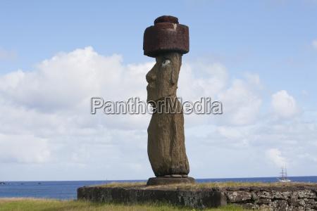 the moai of ahu ko te