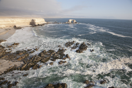 sandstone cliffs and the natural monument