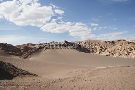 dunes in the valle de la