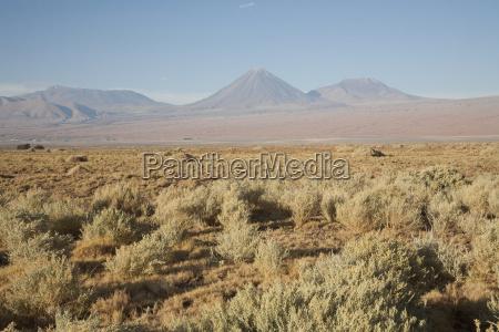 licancabur volcano as seen from the