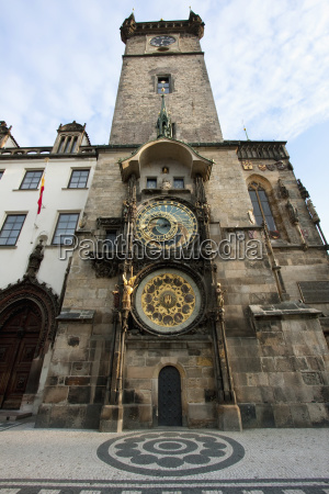 astronomical clock and calendar of the