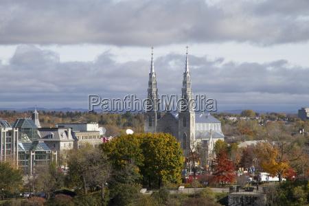 notre dame cathedral basilica ottawa ontario