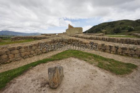 ceremonial plaza ingapirca archaeological complex canar