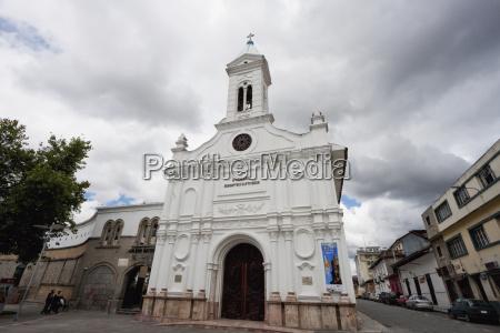 la merced church cuenca azuay ecuador