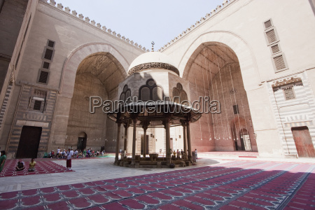 ablution fountain of sultan hassan mosque