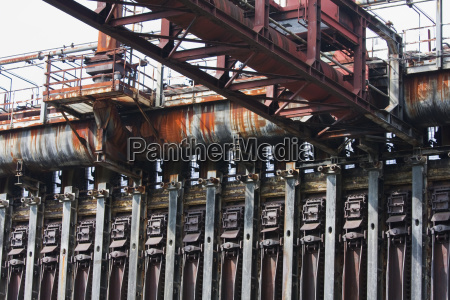 coke furnaces and sun wheel at