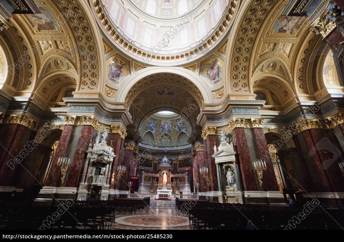main, altar, and, cupola, of, st. - 25485230