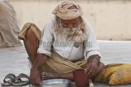 old man gaya bihar india