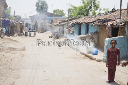 street scene gaya bihar india