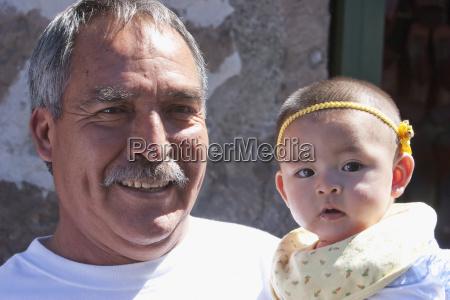 grandfather and his granddaughter morelia michoac