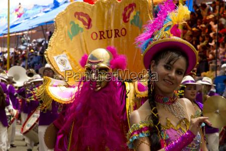 morenada, dancer, wearing, an, elaborate, mask - 25489050