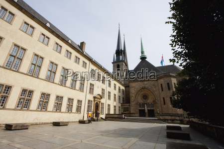 national library and cathedral of the