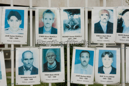 photos of victims of the kosovo