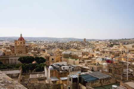panoramic view of victoria from the