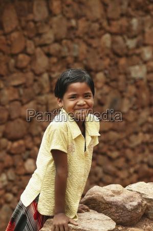 portrait of a schoolgirl bangsa ardual