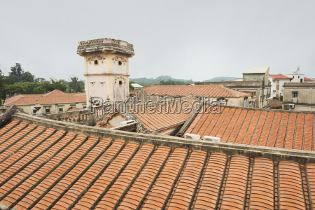 traditional taiwanese architecture in shuitou the