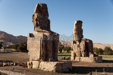 the colossi of memnon west bank