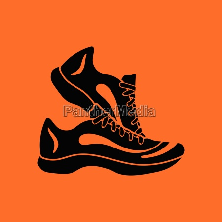 fitness sneakers icon